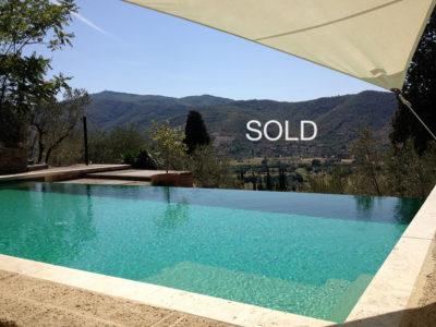 Ref. C115, Cortona, Farmhouse with olive grove and pool