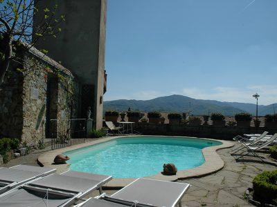 Ref. V73 Tuscany, Monterchi, Elegant 17th century residence