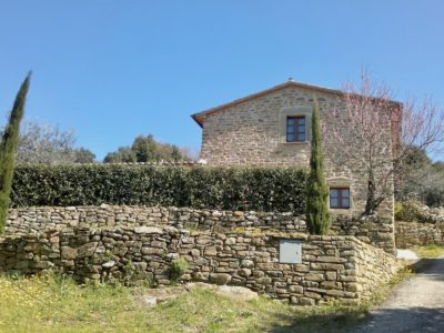 Ref. C136, Cortona, ideal second home in the hills with pool