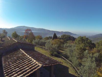 Rif. C137, Casolare fra Cortona e Arezzo
