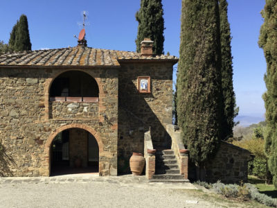 Ref. C146, Villa a stone's throw from the center of Montalcino